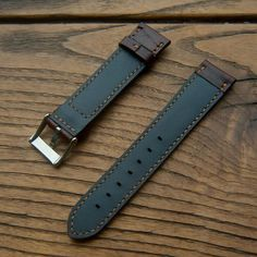Orologio fatto a mano Strap Brown Color Watch Band mano Brown Leather Strap Watch, Watch Bands, Watches For Men, Handmade, Etsy, Color, Accessories, Hand Made, Colour