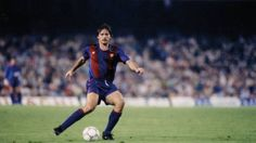 "Migueli's farewell. The 1989-90 season began with the emotional departure of Migueli. Migueli wore the Barça colours for the last time on 5 September 1989 in a match against the Bulgarian national football team.  ""Migueli"" Miguel Bernardo Bianquetti, born 19 December 1951, Spanish central defender (a player with immense physical power, nicknamed Tarzan), FC Barcelona (1973-1988). Barça shirt most times (553), only beaten by Xavi."