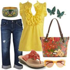 Not normally a fan of yellow but this is cute! :)