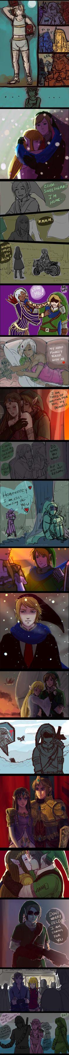 +(- The legend of Zelda doodles -)+ by AngelJasiel