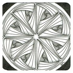 """Tickled To Tangle: """"It's a String Thing"""" #138 Tiles"""