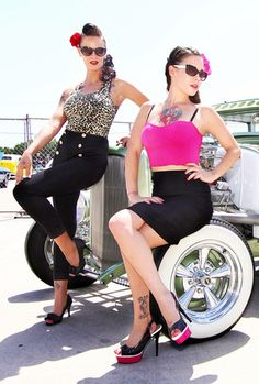 ALexis Capone and Lily Deathstarr <3  #American_Pinups