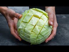 Az ember mindig tanul! Íme, milyen finomságot készíthetsz egy káposztából - YouTube Side Dishes, Cabbage, Paleo, Vegetarian, Healthy Recipes, Vegetables, Fruit, Film, Youtube
