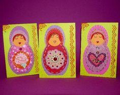 matryoshka cards