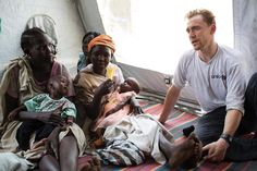 hiddleston-daily: twhiddleston A deadly famine has put millions of children in danger in South Sudan and across East Africa. But with your help @Unicef staff can reach children with life-saving food and care and help prevent more cases of malnutrition. Ive been to the South Sudan twice to meet children and their families and I have seen the impact Unicef is making. Please visit the link in my bio to find out more. [link]