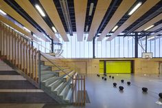 Educational Architecture Award – Australian Defence Force Academy – New Indoor Sports Centre by HDR | Rice Daubney. Photo by Tyrone Branigan.
