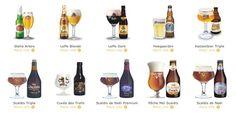 A sneak peak of the over 100 Belgian beers on our menu  I Belgian Beer Café's - U.S & Canada #beer #BelgianBeer