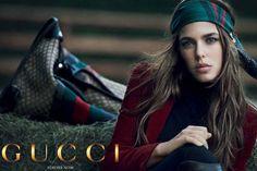 Charlotte Casiraghi  für Gucci