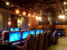Internet cafe in Hubei