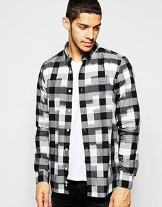 Lacoste Live Shirt with Buffalo Check