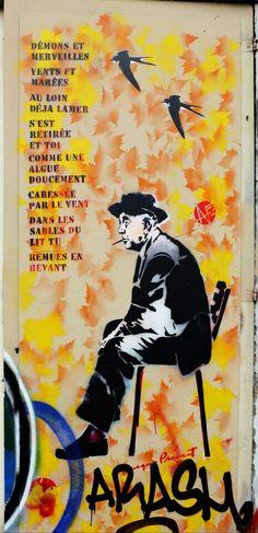 Nice art - street art - Paris 11 - rue de la folie méricourt