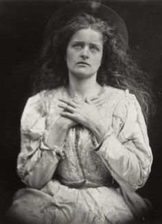 Julia Margaret Cameron, 'So now I think my time is near — I trust it is — I know, / The blessed Music went that way my soul will have to go', 1875