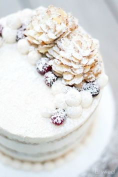 Recipe; Eggnog Cake