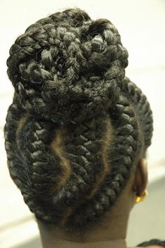 Black Goddess Braids Hairstyles | Best Medium Hairstyle goddess braids5 | Best Medium Hairstyle