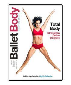 Look what I found on #zulily! Ballet Body: Total Body Workout DVD by Ballet Body #zulilyfinds