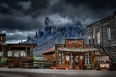 Ghost town near Phoenix, Arizona