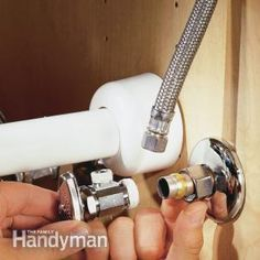 How to Replace a Shutoff Valve