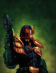 Judge Dredd by zaratus.deviantart.com on @deviantART