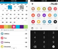 Daily iPhone App: Dollarbird expense calendar helps you make the most of your money