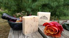 Rocky Rose Soap by PineMountainCountry on Etsy