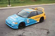 spoon cr-x | Anybody got that picture of the CRX painted spoon colors - Honda-Tech