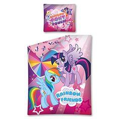 My Little Pony Arc En Ciel Amis Housse de Couette et Taie Unique Mon Petit Poney http://www.amazon.fr/dp/B00R3LD6Q4/ref=cm_sw_r_pi_dp_tUFlwb1J1XFAD
