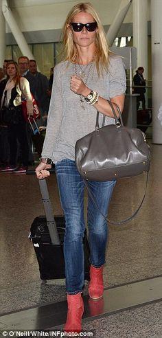 Gwyneth Paltrow airport style