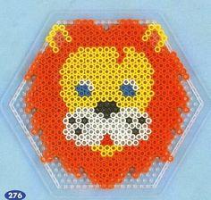 Bildergebnis für löwe bügelperlen