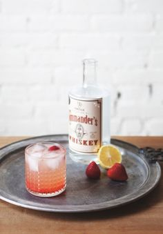 White whiskey collins - Similar to its friend, Tom Collins (a gin cocktail), this is a sweet drink, made with soda water, fruit, and a bit of simple syrup—perfect for porch drinking.