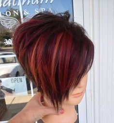 20 Short Hairstyle Color Ideas…