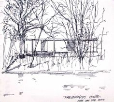 boceto-farnsworth-house1