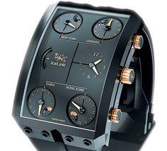 IceLink Zermatt GMT watch
