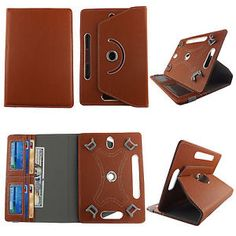 Folio Cover for ASUS Google Nexus 7 inch (PU) Case/360 Stand/Card Pocket