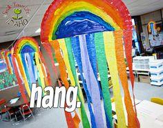 May craft rainbow