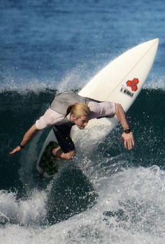 Chris Hemsworth I love the fact that he surfs