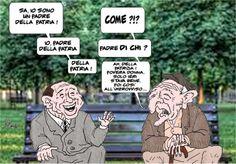 ITALIAN COMICS - Silvio Berlusconi: il Padre della Patria…visto da Massimo Ottavi-Ottomax