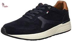 Tommy Hilfiger R2285Ush 1C1, Pompes à plateforme plate homme, Bleu - Bleu nuit (403), 42 - Chaussures tommy hilfiger (*Partner-Link)
