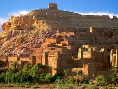 Kasbah ruins, Ait Benhaddou, Morocco