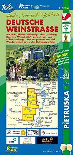 Deutsche Weinstraße: Wander-, Rad- und Freizeitkarte, 1:40000