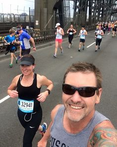 Throwback Thursday to our Sydney Harbour Bridge run last year  great experience with my wife/training buddy in this pic  #sydney #sydneyharbourbridge #bridgerun #newsouthwales #run #runner #running #runningman #wife #trainingbuddy #runselfie #selfie #instarunner #triathlontraining #fitness #happy #lovedit @suellenl22 #throwbackthursday #throwback by justin.hampshire http://ift.tt/1NRMbNv