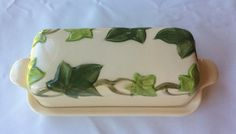 Franciscan Ivy Covered Butter Dish by junquegrl on Etsy
