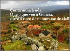 Cuenta una leyenda: Que el que viene a Galicia corre el riesgo de enamorarse de ella! Hotelgranproa.com