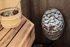 Electric Steam Sauna Heater - Huum Drop 4,5-9kW, Design Sauna Oven, Finnish saun | eBay