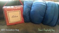 Eileen's Perpetually Busy: Blog With Friends: DIY Toiletry Bag