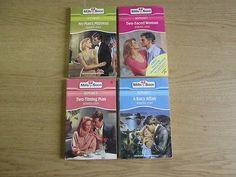 4 x Roberta Leigh Mills & Boon Romance Novels: TITLES: 1. Two-Timing Man; 2. No