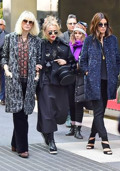 Cate Blanchett, Sandra Bullock & Helena Bonham Carter from The Big Picture: Today's Hot Pics  Sneak peek! The actresses are spotted shooting scenes forOcean's Eightin New York City.