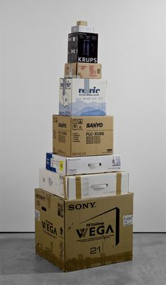 Martin Creed: Work No. 916 Boxes 2008 http://martincreed.com/site/works/work-no-916
