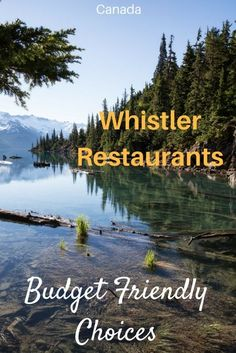 Whistler is a spectacularly beautiful resort town that is filled with thrilling winter and summer activities. But where should you eat? If you want some fantastic food at reasonable prices, look no further! Here are the Whistler restaurants that a local Whistler, Alberta Canada, British Columbia, Travel Guides, Travel Tips, Work Travel, Budget Travel, Canada Vancouver, Vancouver Travel