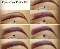 Vintage eyebrows