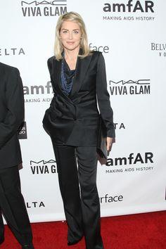 Sharon Stone amfAR Los Angeles 2013